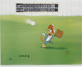 "Animation Art:Limited Edition Cel, ""Fly Ball"" Limited Edition Hand Painted Cel #17/200 Original Art(Walter Lantz Productions, 1992). This hand painted limited...(Total: 2 Items)"
