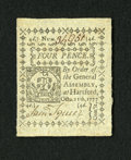 Colonial Notes:Connecticut, Connecticut October 11, 1777 Uncancelled 4d Gem New. This is anenormously margined and wonderfully embossed example of this...