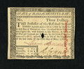 Colonial Notes:Massachusetts, Massachusetts May 5, 1780 $3 Very Choice New. A wonderful example of this common Massachusetts issue that has superb paper q...