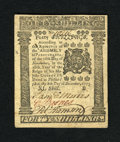 Colonial Notes:Pennsylvania, Pennsylvania December 8, 1775 40s Choice New. Simply a stunningexample of this denomination which is by far the nicest note...