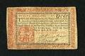 Colonial Notes:Pennsylvania, Pennsylvania April 10, 1777 12s About New. An incredible example ofthis significantly scarcer Red and Black variety that ha...