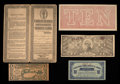 Confederate Notes:Group Lots, Chemicograph $50 and More.. ... (Total: 5 items)
