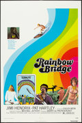 "Movie Posters:Rock and Roll, Rainbow Bridge (Transvue, 1972). One Sheet (27"" X 41""). Rock andRoll.. ..."