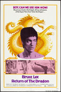 """Movie Posters:Action, Return of the Dragon (Bryanston, 1974). One Sheet (27"""" X 41"""").Action.. ..."""