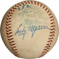 Autographs:Baseballs, 1959 Early Wynn Career Victory #252 Game Used Baseball....