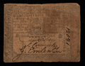 Colonial Notes:Pennsylvania, Pennsylvania October 1, 1773 18d Very Good-Fine.. ...