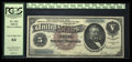 Large Size:Silver Certificates, Fr. 263 $5 1886 Silver Certificate PCGS Very Choice New 64.. ...
