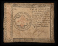 Colonial Notes:Continental Congress Issues, Continental Currency January 14, 1779 $3 Very Fine.. ...
