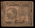 Colonial Notes:Continental Congress Issues, Continental Currency November 29, 1775 $6 Very Fine-ExtremelyFine.. ...