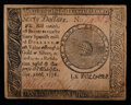 Colonial Notes:Continental Congress Issues, Continental Currency September 26, 1778 $60 Very Fine+.. ...