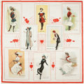 "Non-Sport Cards:Singles (Pre-1950), Very Rare 1912 S110 ""Bathing-Athletic-Dancing Girls"" Silk PremiumPillow Top...."