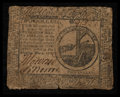Colonial Notes:Continental Congress Issues, Continental Currency May 9, 1776 $2 Fine.. ...