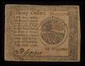 Colonial Notes:Continental Congress Issues, Continental Currency September 26, 1778 $20 Very Fine-ExtremelyFine.. ...