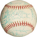 Autographs:Baseballs, 1976 New York Yankees Team Signed Baseball....