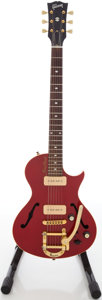 Musical Instruments:Electric Guitars, 1997 Gibson Blueshawk Wine Red Solid Body Electric Guitar,#90607404....