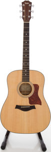 Musical Instruments:Acoustic Guitars, 2006 Taylor Natural Acoustic Guitar, #20060607002....
