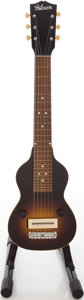 Musical Instruments:Lap Steel Guitars, Circa late 1930's Gibson EH-100 Sunburst Lap Steel Guitar,#608-20....