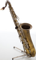Musical Instruments:Horns & Wind Instruments, Vintage Convair Brass Tenor Saxophone, #13135....