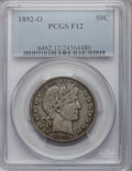 Barber Half Dollars: , 1892-O 50C Fine 12 PCGS. PCGS Population (9/285). NGC Census:(5/209). Mintage: 390,000. Numismedia Wsl. Price for problem ...
