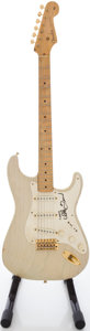 Musical Instruments:Electric Guitars, 1957 Replica Fender Stratocaster Blonde Solid Body Electric Guitar, #22329....