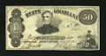 Obsoletes By State:Louisiana, Shreveport, LA- State of Louisiana $50 Mar. 10, 1863. Here is a popular note with the portrait of CSA General Leonadis Polk,...