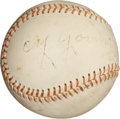 Autographs:Baseballs, 1940's Cy Young Single Signed Baseball....