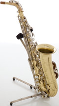 Musical Instruments:Horns & Wind Instruments, Circa 1966 Conn Shooting Star Brass Alto Saxophone, #H17030....