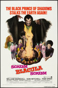"Movie Posters:Blaxploitation, Scream Blacula Scream (American International, 1973). One Sheet(27"" X 41""). Blaxploitation.. ..."
