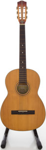 Musical Instruments:Acoustic Guitars, Circa Late 1970's Suzuki No.9 Natural Classical Guitar, #710123....