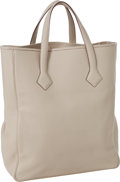 Luxury Accessories:Bags, Hermes Parchment Clemence Leather Victoria II Cabas 32 Tote. ...
