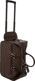 Luxury Accessories:Travel/Trunks, Louis Vuitton Damier Canvas Eole Rolling Overnight Bag. ...