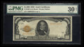 Small Size:Gold Certificates, Fr. 2408 $1000 1928 Gold Certificate. PMG Very Fine 30 Net.. ...