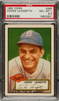 Baseball Cards:Singles (1950-1959), 1952 Topps Cookie Lavagetto #365 PSA NM-MT+ 8.5....