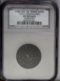 1783 COPPER Nova Constellatio Copper, Pointed Rays, Small US--Corroded--NCS. VF Details. NGC Census: (0/0). PCGS Populat...