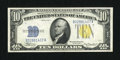 Small Size:World War II Emergency Notes, Fr. 2309 $10 1934A North Africa Silver Certificate. Choice About Uncirculated.. ...