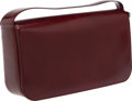 Luxury Accessories:Bags, Cartier Burgundy Panthere Flap. ...