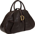 Luxury Accessories:Bags, Dior Brown Ostrich Double Saddle Bag. ...