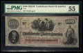 Confederate Notes:1862 Issues, T41 $100 1862 PF-56 Cr. 326.. ...