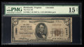 National Bank Notes:Virginia, Richlands, VA - $5 1929 Ty. 1 The First NB Ch. # 10850. ...
