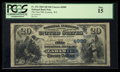 National Bank Notes:Wyoming, Laramie, WY - $20 1882 Date Back Fr. 552 The First NB Ch. #(W)4989. ...