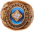Baseball Collectibles:Others, 1955 Brooklyn Dodgers World Championship Ring....