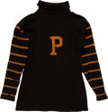Football Collectibles:Uniforms, Turn of the Century Princeton University Tigers Game Worn FootballJersey - One of the Most Significant Jerseys in Existence!...