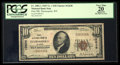 National Bank Notes:Wyoming, Thermopolis, WY - $10 1929 Ty. 1 First NB Ch. # 12638. ...