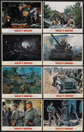 """Movie Posters:War, Kelly's Heroes (MGM, 1970). Lobby Card Set of 8 (11"""" X 14""""). War.... (Total: 8 Items)"""