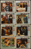 "Movie Posters:Adventure, Istanbul (Universal International, 1957). Lobby Card Set of 8 (11""X 14""). Adventure. ... (Total: 8 Items)"