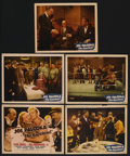 """Movie Posters:Sports, Joe Palooka in The Knockout (Monogram, 1947). Title Lobby Card and Lobby Cards (4) (11"""" X 14""""). Sports. ... (Total: 5 Items)"""