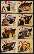 "Movie Posters:Adventure, Mr. Reckless (Paramount, 1948). Lobby Card Set of 8 (11"" X 14"").Adventure. ... (Total: 8 Items)"