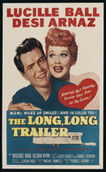 """Movie Posters:Comedy, The Long, Long Trailer (MGM, 1954). One Sheet (27"""" X 41""""). Comedy...."""