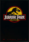 "Movie Posters:Science Fiction, Jurassic Park (Universal, 1993). Advance One Sheet (27"" X 40"") SS.Science Fiction. ..."