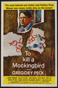 "Movie Posters:Drama, To Kill a Mockingbird (Universal, 1963). One Sheet (27"" X 41"").Drama. ..."
